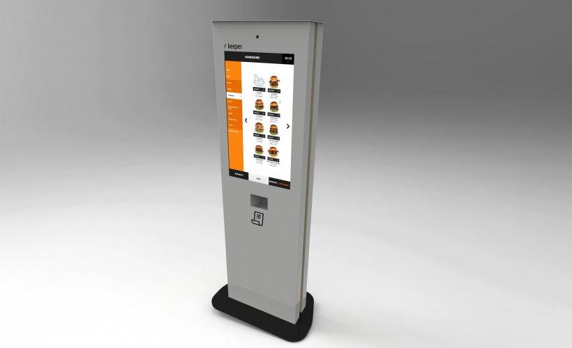 éttermi szoftver, gyorsétterem, önkiszolgáló, kiosk, kioszk